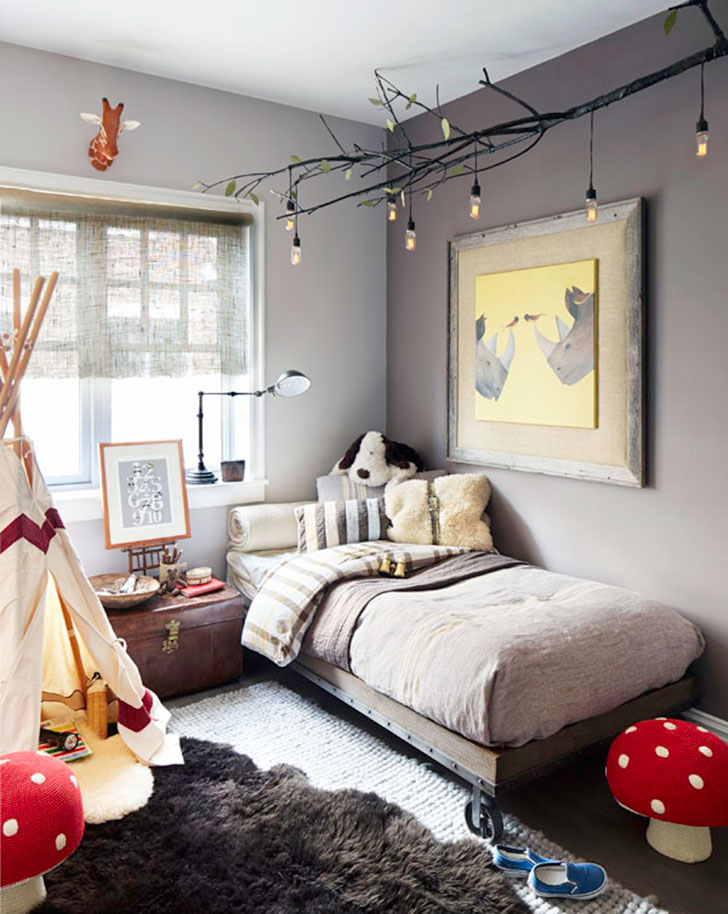 Cool Bedroom Ideas for Little Boys - PureWow on Small Bedroom Ideas For Boys  id=63527