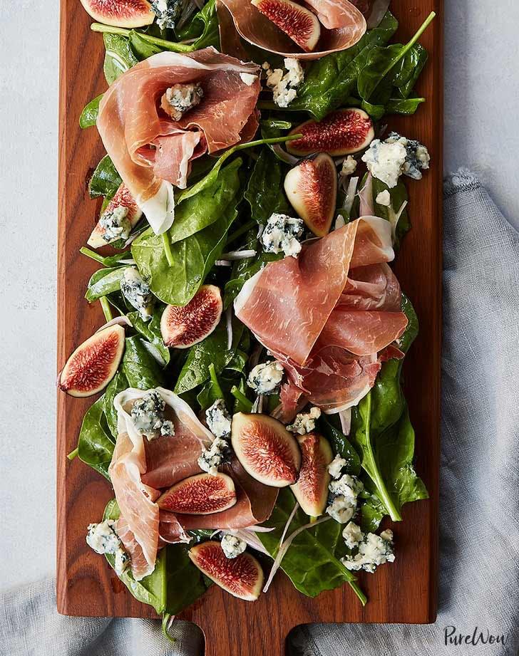 prosciutto and fig salad board recipe