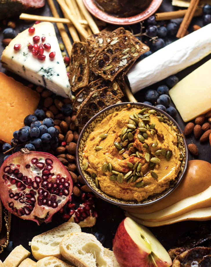 autumn harvest cheese board recipe