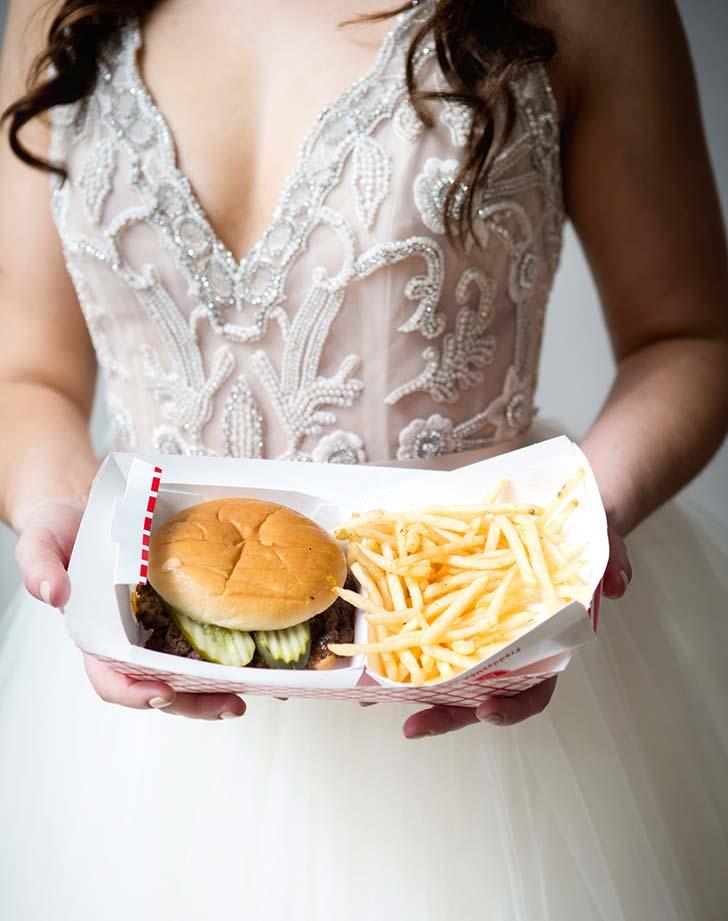 wedding snack brugers1