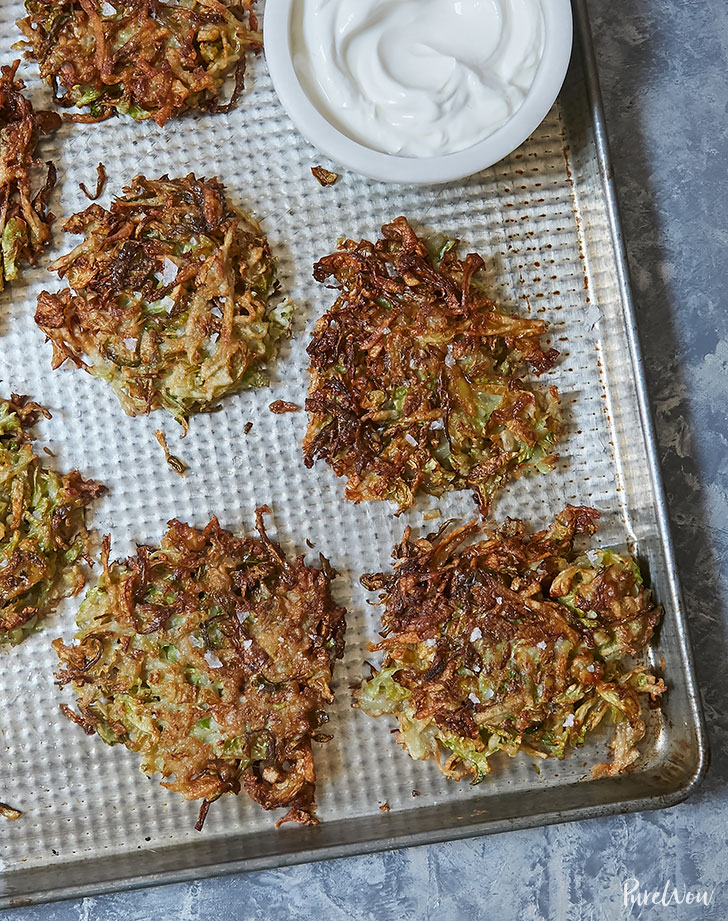 brussels sprouts latkes recipe