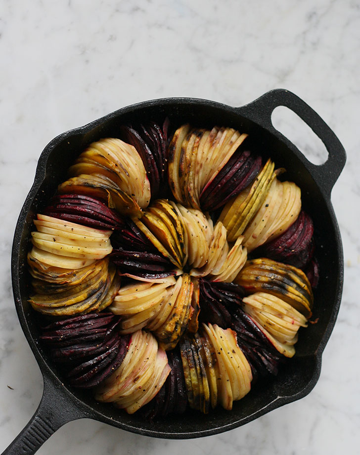 oven roasted beets and potatoes recipe