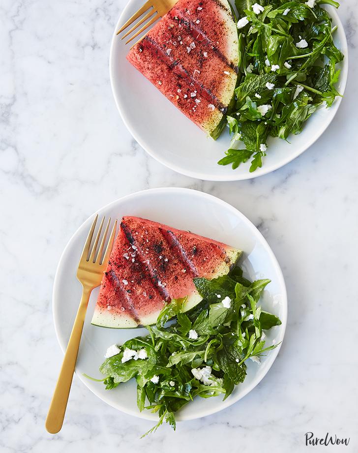 Grilled Watermelon Steaks