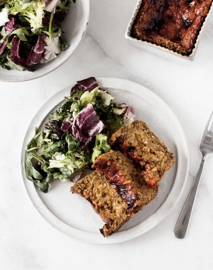 lentil and sweet potato loaf recipe