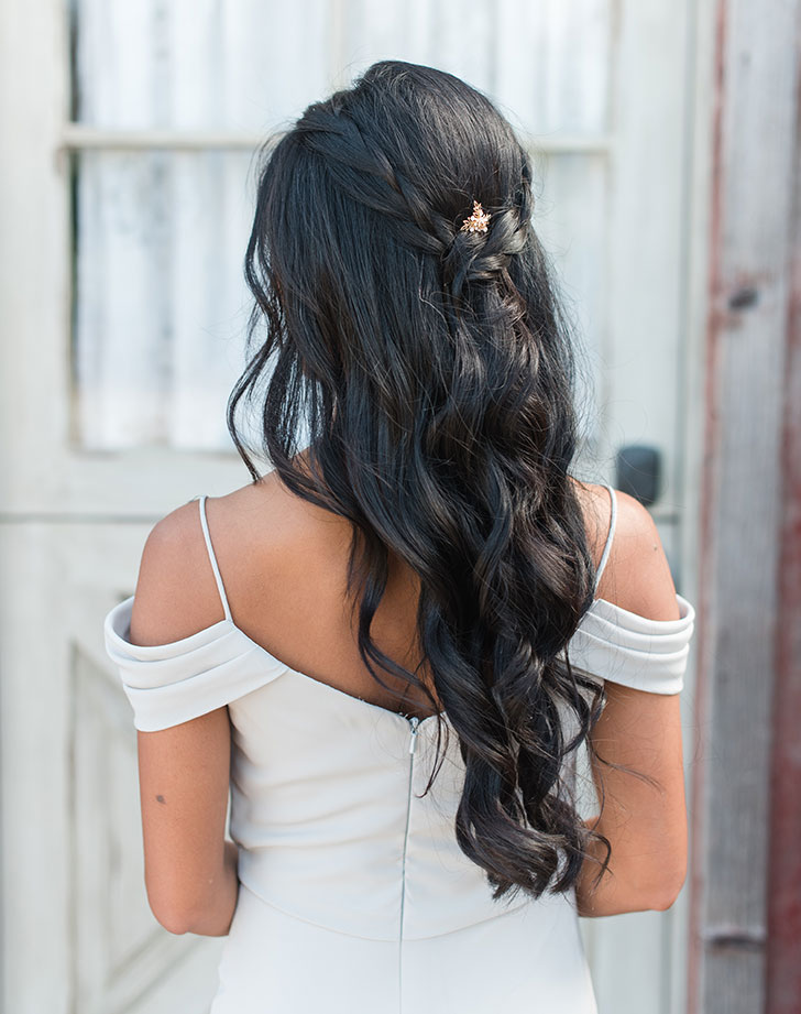 bridesmaid hair style 5