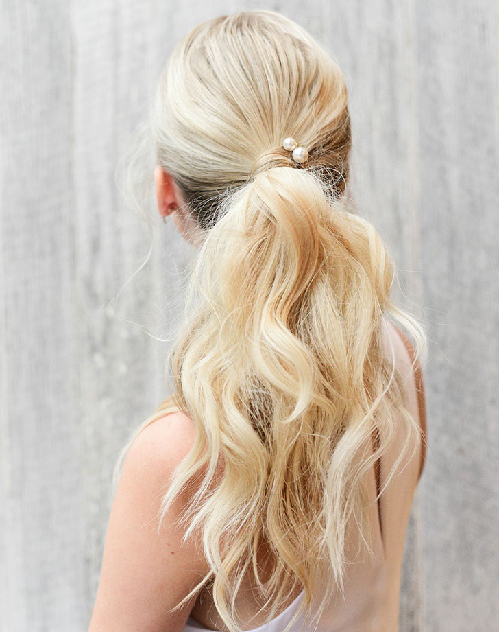 bridesmaid hair style 9