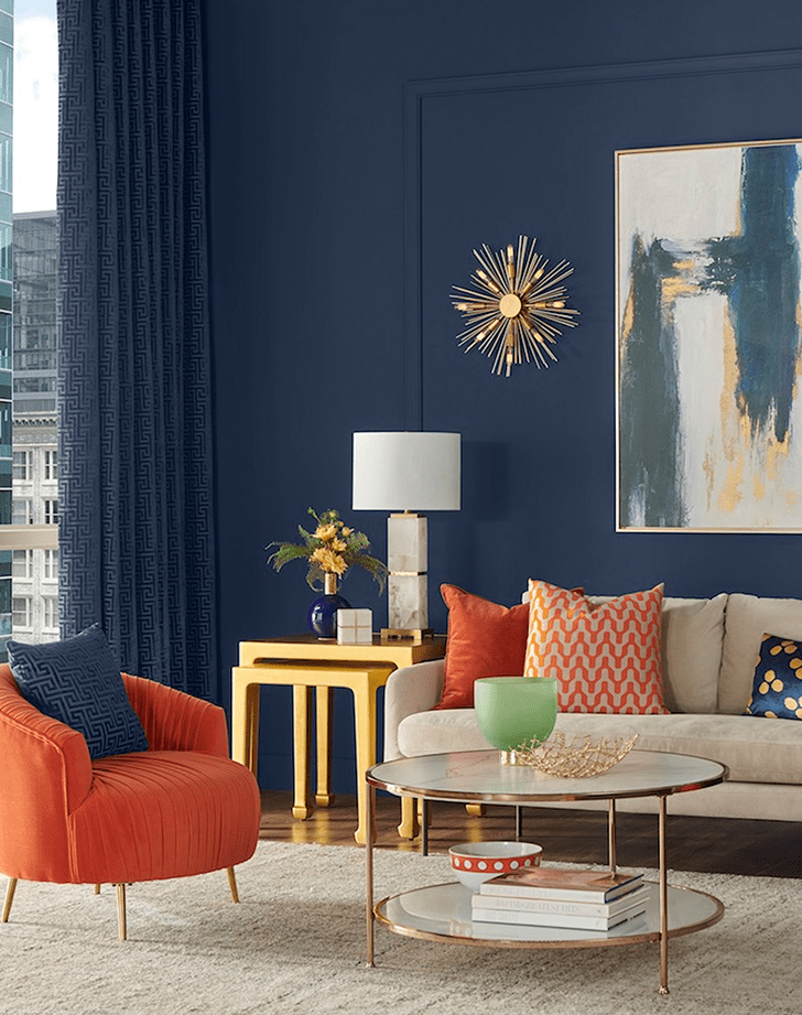 living room color ideas navy