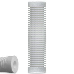 Purification Filter Consulting - Cartus rezerva filtru apa potabila sedimente ( rugina, nisip, mal, argila, coroziune ) grosiere profesional 3M AquaPure - polipropilena 10 inch, 5 microni