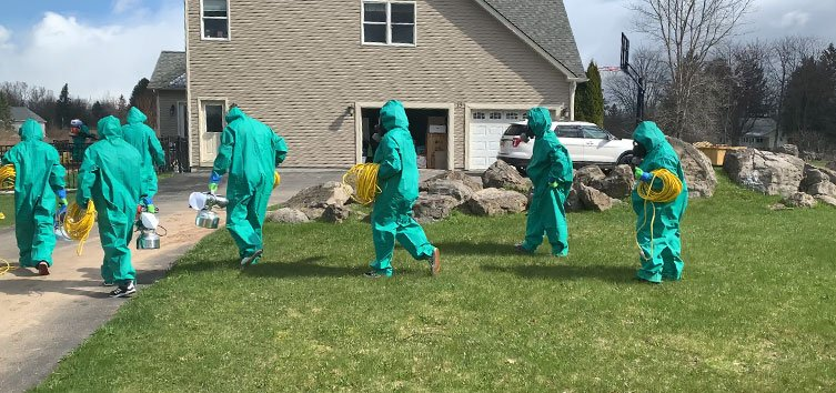 residential disinfecting service