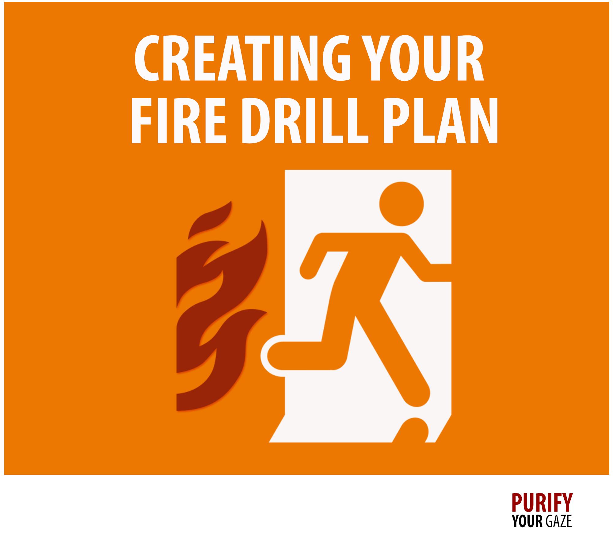 Relapse Emergency Fire Drill Plan