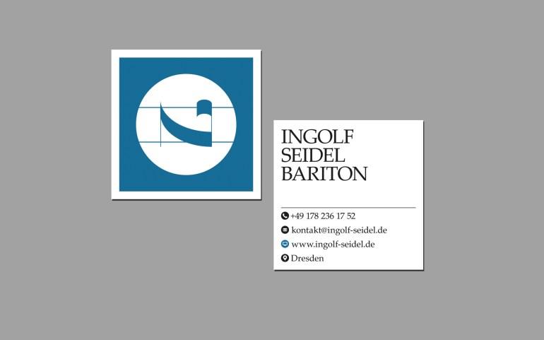 Visitenkarte Ingolf Seidel - Bariton - Dresden