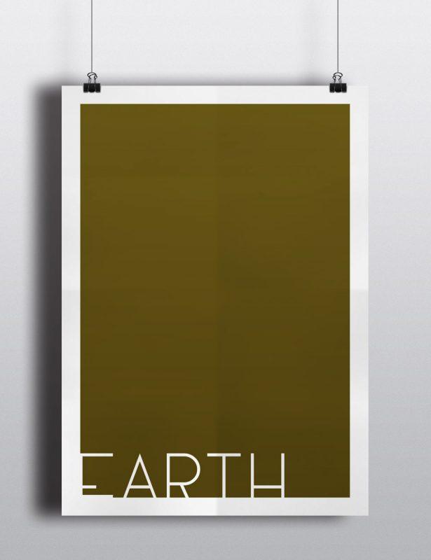 Poster - Die vier Elemente - Erde