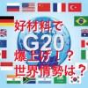 【仮想通貨】G20の結果で爆上げか!?仮想通貨の世界情勢は!?