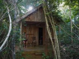 Unsere Hütte im Kirindy Forest