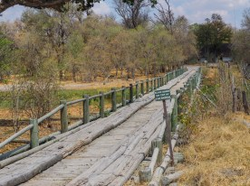 Brücke auf dem Weg zur Third Bridge