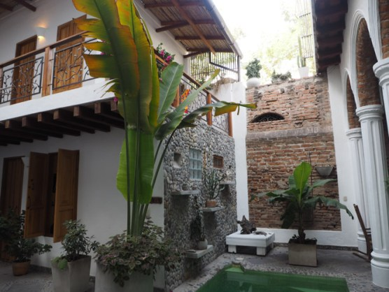 Casa Verde, Santa Marta Hinterhof