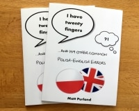 I Have Twenty Fingers: ...and 159 other common Polish-English Errors, by Matt Purland - image