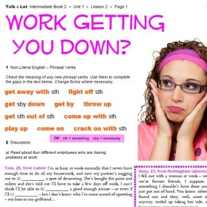 Work Getting You Down? - FREE Worksheet Pack