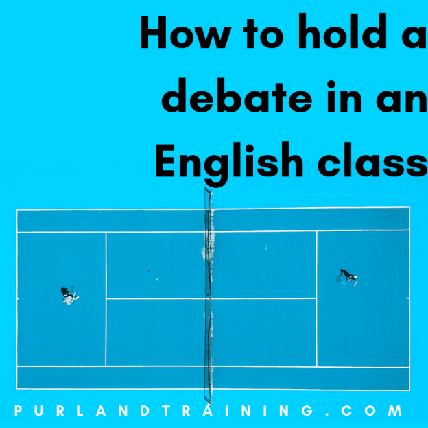 How to Hold a Debate in an English Class