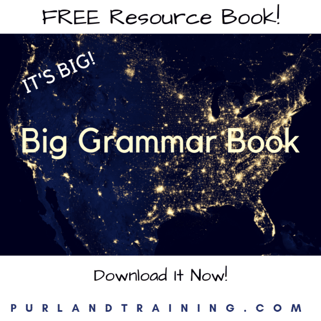 FREE Big Grammar Book – by Matt Purland