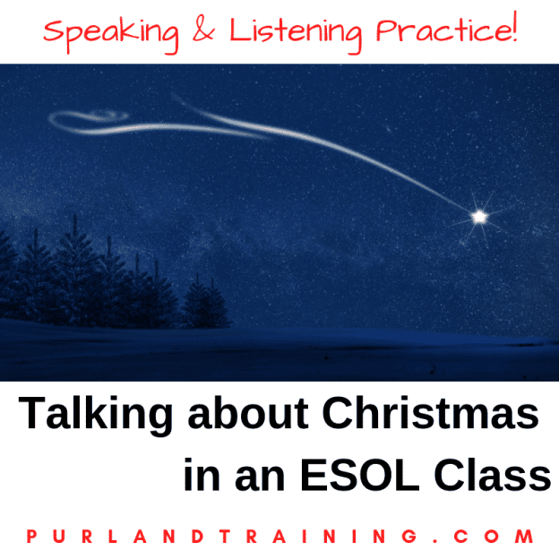 Talking about... Christmas in an ESOL Vocabulary Class