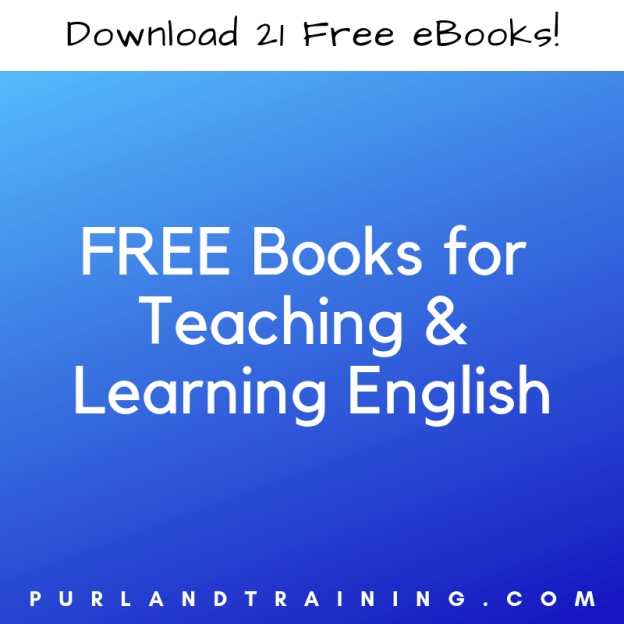 FREE Books for Teaching and Learning English!