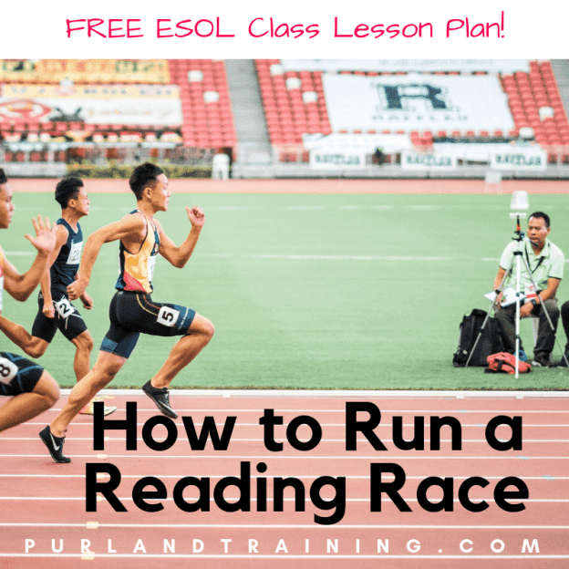How to Run a Reading Race