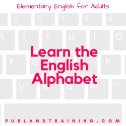 Learn the English Alphabet