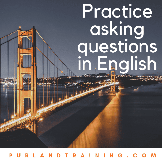 Practice asking questions in English with Sentence Blocks