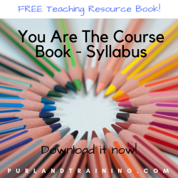 FREE Course Planning Book: You Are The Course Book - Syllabus by Matt Purland