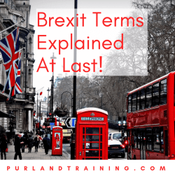 Brexit Terms Explained At Last!