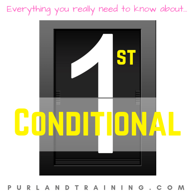 What is First Conditional in English?