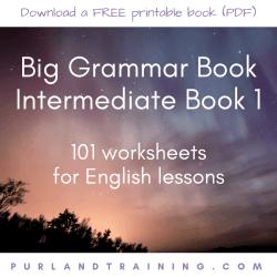 FREE Big Grammar Book Intermediate - by Matt Purland