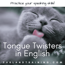 Tongue Twisters in English