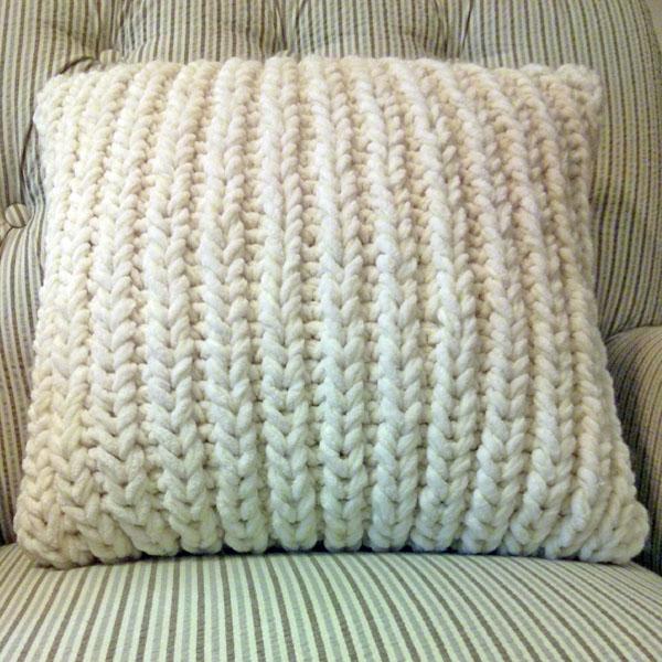 Fisherman's Rib Accent Pillow