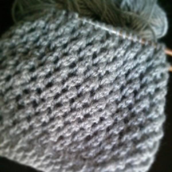 mesh lace wip - Purl Avenue