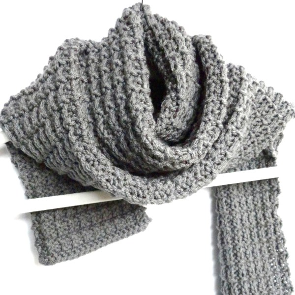 Ridge Rib Men Scarf - Purl Avenue