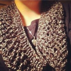 Mesh Lace Cowl by livimj