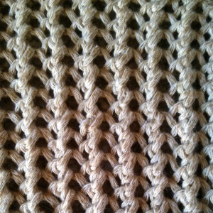 Ribbed Mesh Stitch