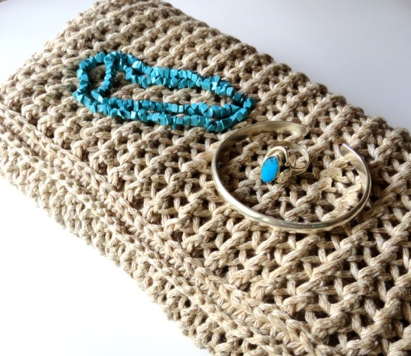 Silver and Turquoise with scarf - Purl Avenue