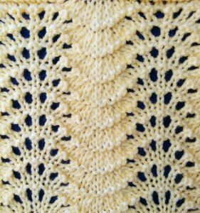 Feather and Fan Stitch