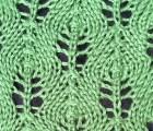 Flower Bud Lace Stitch