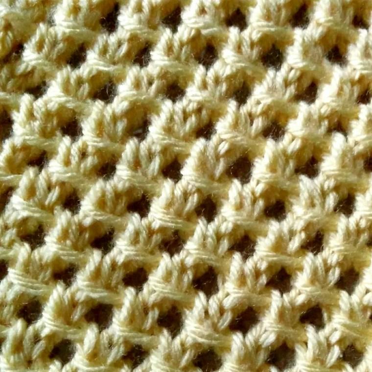 irish mesh stitch
