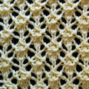 intricate lattice stitch
