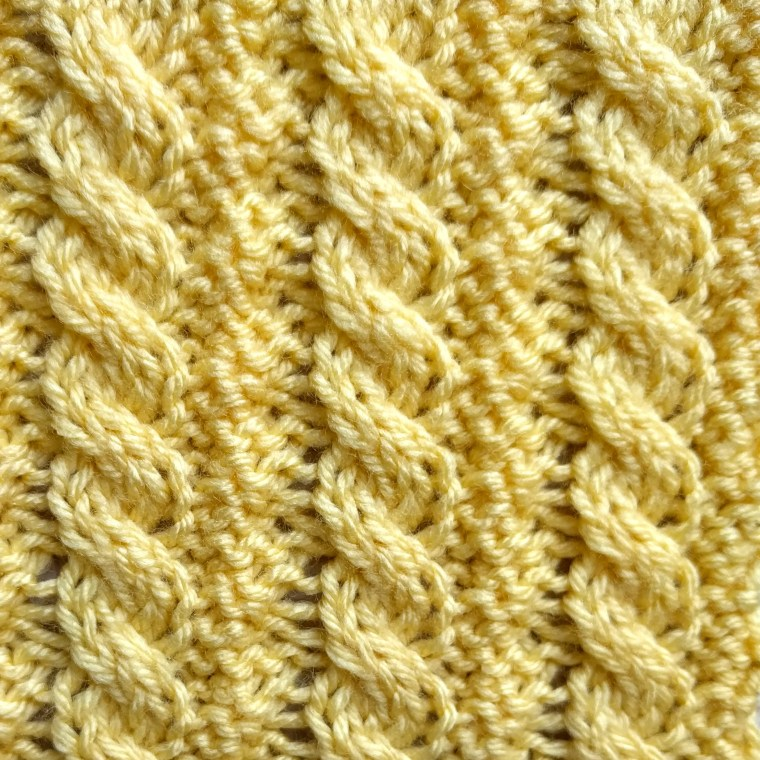 Little Ropes Stitch RS - Purl Avenue