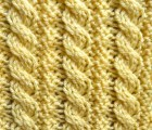Reversible Little Ropes Stitch - Purl Avenue
