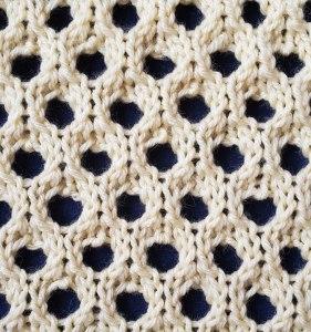Eyespot Lace Stitch