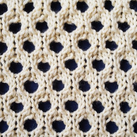 Eyespot Lace Stitch