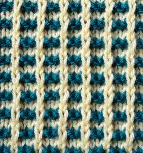 Slipped Stitch Squares