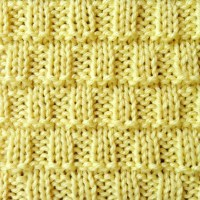 Tiny Blocks Knit Stitch